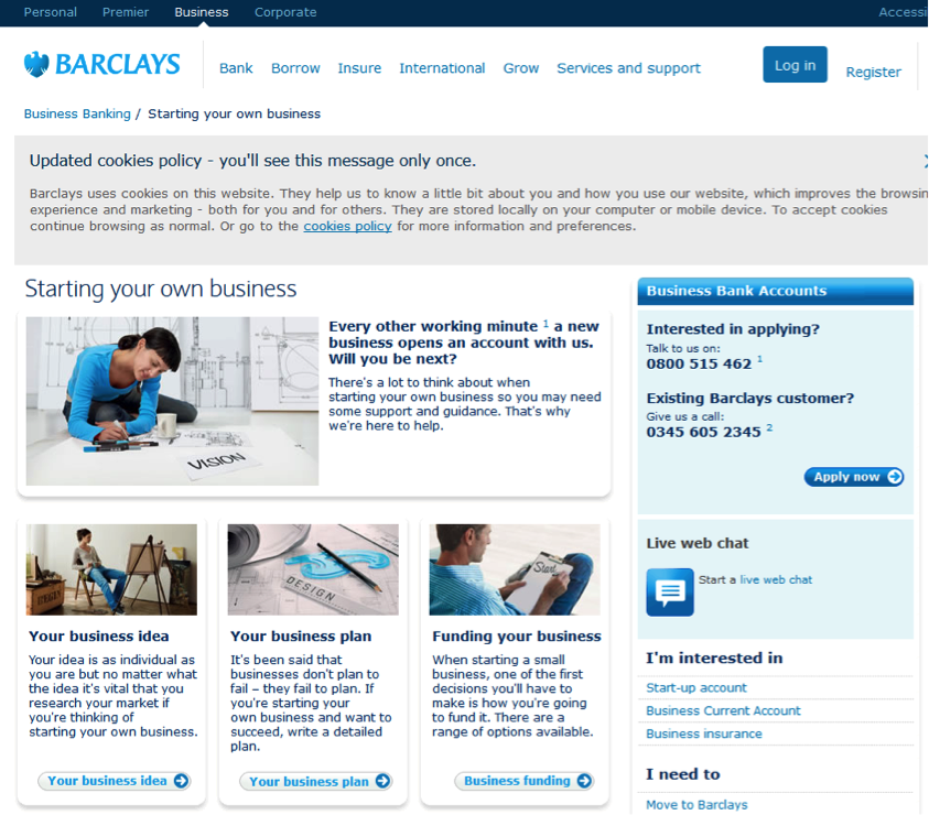 Barclays-Example